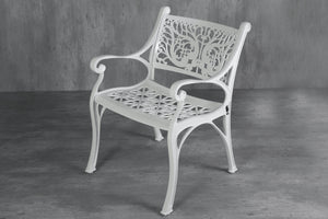 Vega Floral Aluminium Outdoor Chair