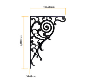 Daisy Aluminium Wall Bracket Planter(Set_of_2)
