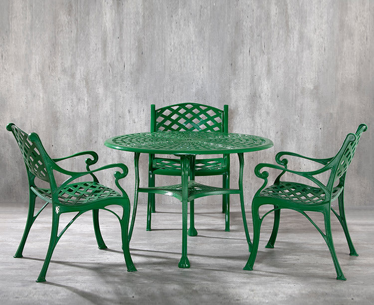 "Orion TRSCA<br><span style=""font-size:16px;""> Set of 1 Table and 3 chairs</span>"