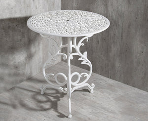"Vela TR03 <br><span style=""font-size:16px;""> Small flower table with 3 legs</span>"