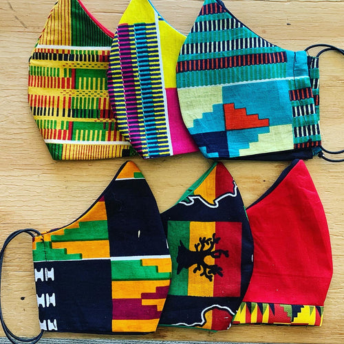 African Heritage Cloth Masks