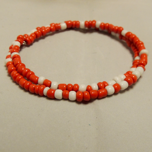 Red & White Multi Seed Bead Set