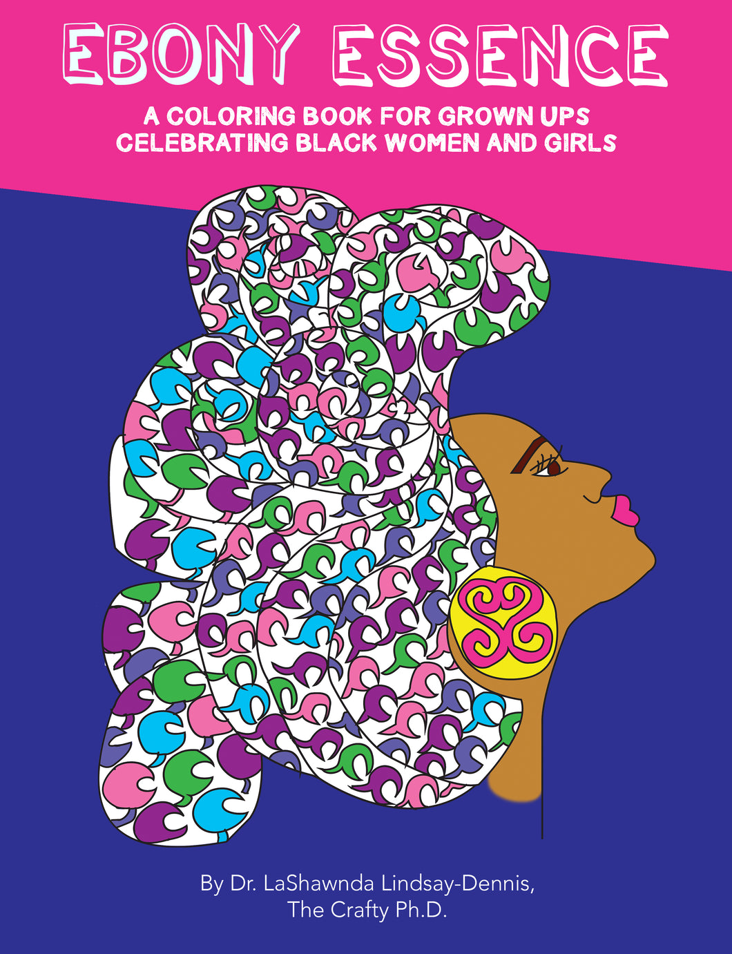 Ebony Essence Coloring Book