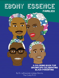 Ebony Essence Families Coloring Book