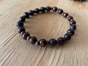 Chocolate Beaded Bracelet