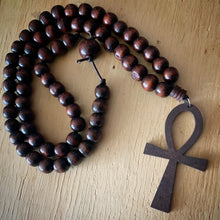 Ankh Beaded Necklace