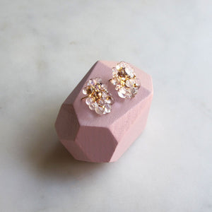 Group of Kismet Workshop's Dot stud earrings in many colors