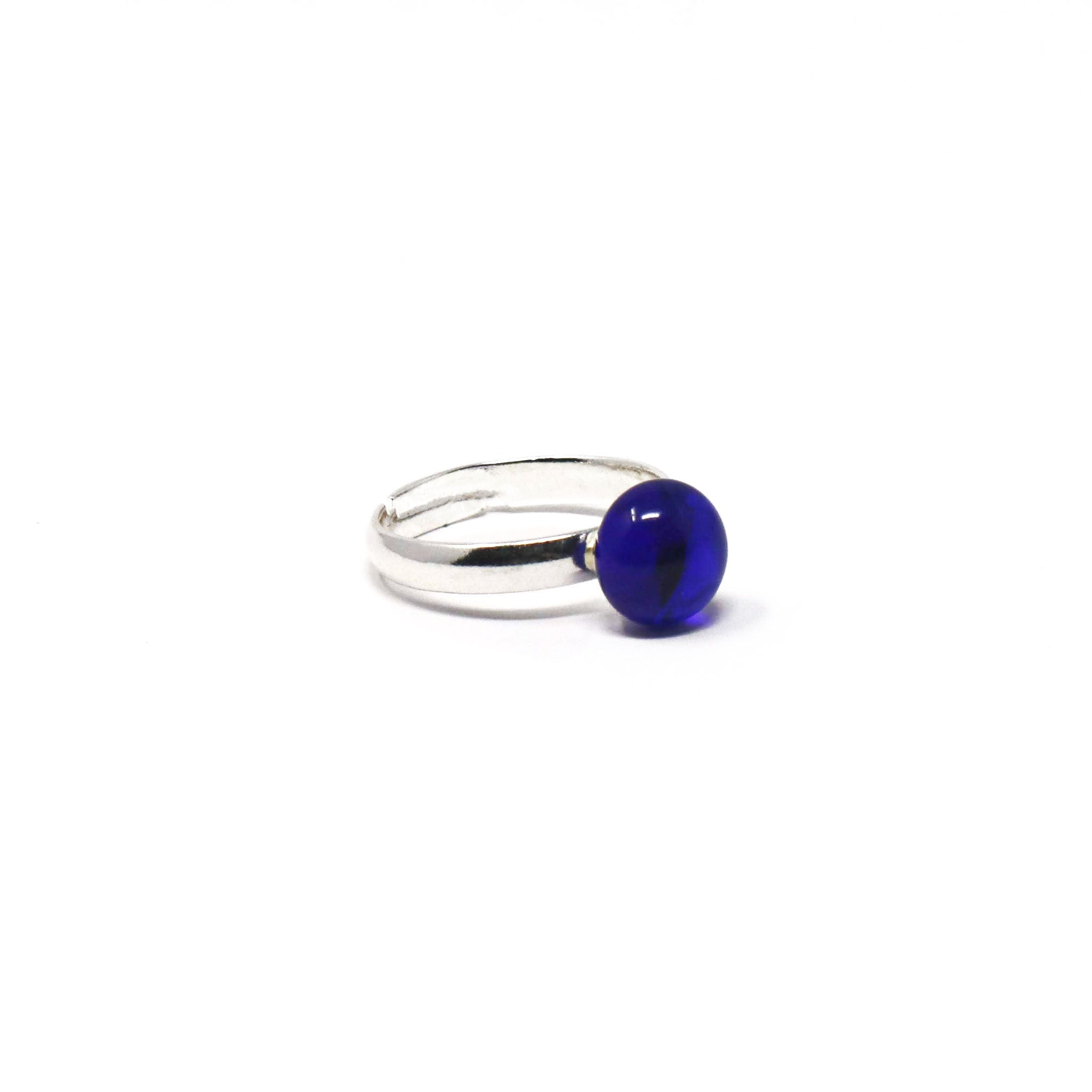 Blue Skies Dot Ring