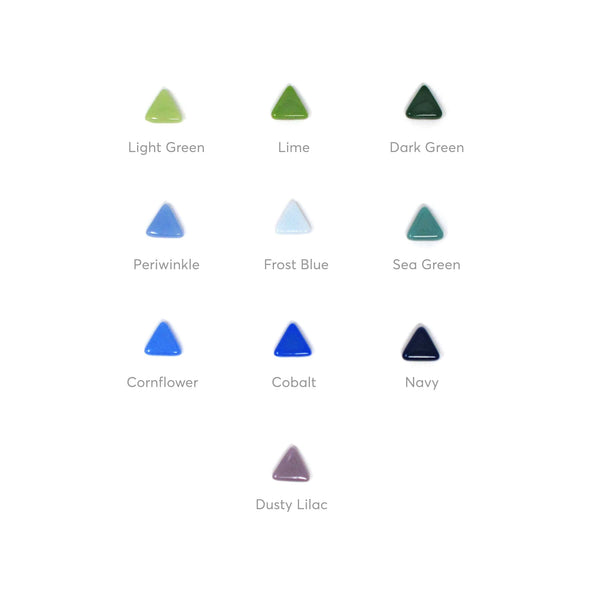 Rally Collection - Triangles - cool colors