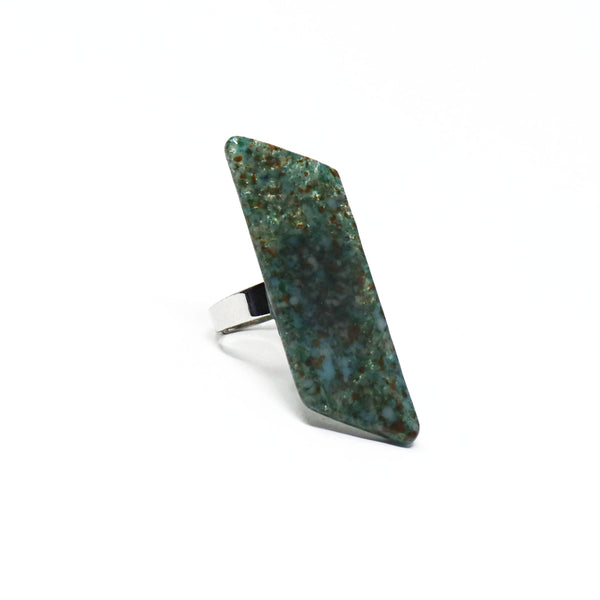 Stone Geo Statement Ring
