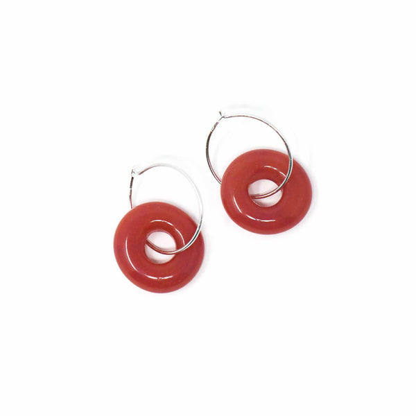 Torus Hoop Drop Earring