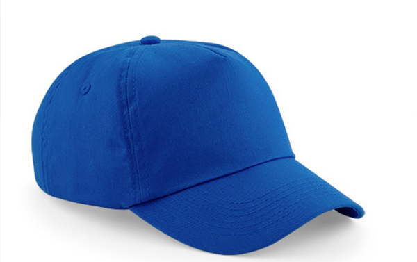 Heavy Brushed Cotton Cap 5 Panels with polished metal buckle