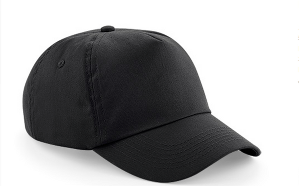 Heavy Brushed Cotton Cap 5 Panels with Velcro(Self-Strap)