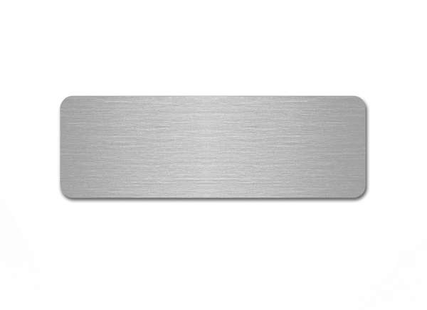 SUBLIMATION ALUMINIUM NAME BADGE