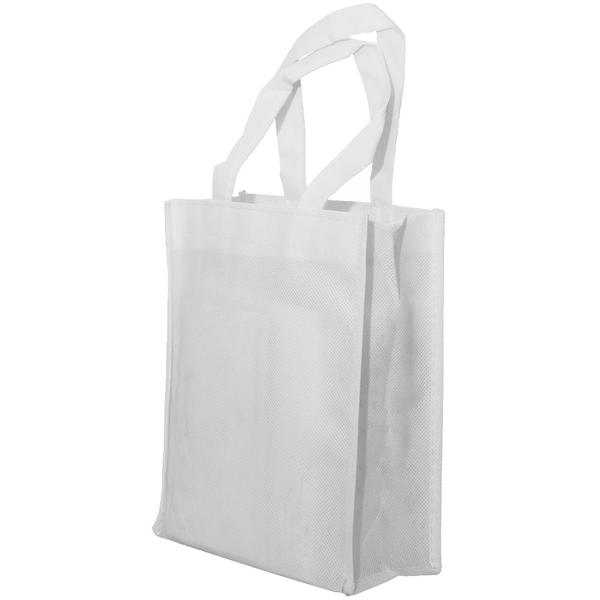 NON WOVEN BAG WITH COLORED TRIM