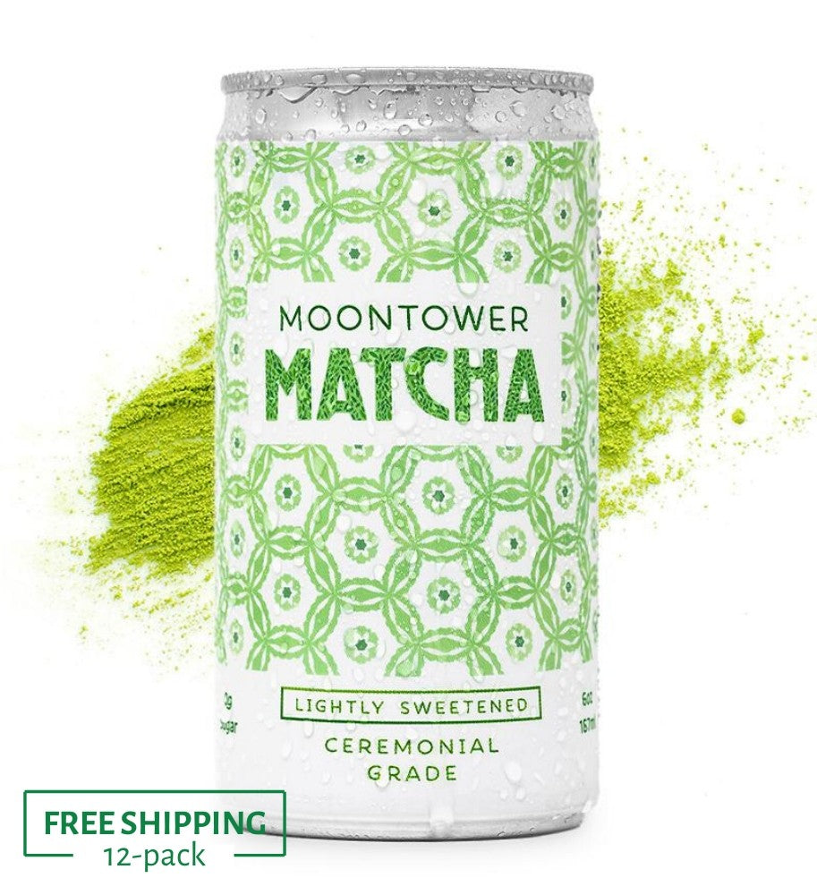 Load image into Gallery viewer, Moontower Matcha™ Lightly Sweetened - 12 pack