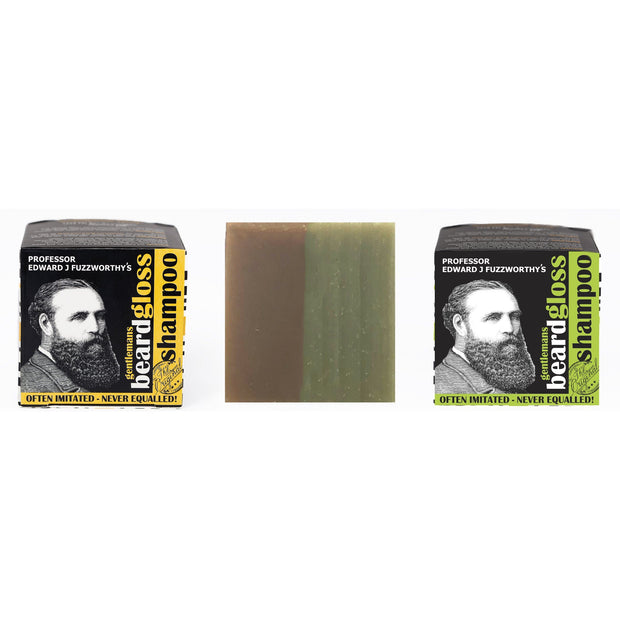 50/50 Apple Cider Vinegar Tonic & Original Beard Shampoo Bar Sampler Pack - Professor Fuzzworthy - Professor Fuzzworthy Beard Care