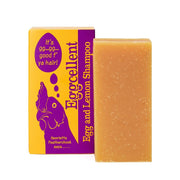 Eggcellent Egg Lemon Solid Shampoo Bar - Beauty and the Bees - Professor Fuzzworthy Beard Care