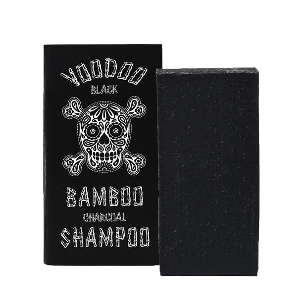 Voodoo Black Bamboo Charcoal Solid Shampoo Bar - Professor Fuzzworthy - Professor Fuzzworthy Beard Care