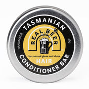 Tasmanian Real Beer Solid Conditioner Bar - Beauty and the Bees - Professor Fuzzworthy Beard Care