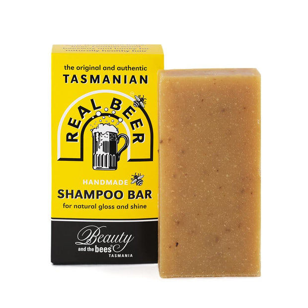 Real Beer Solid Shampoo Bar - Professor Fuzzworthy - Professor Fuzzworthy Beard Care