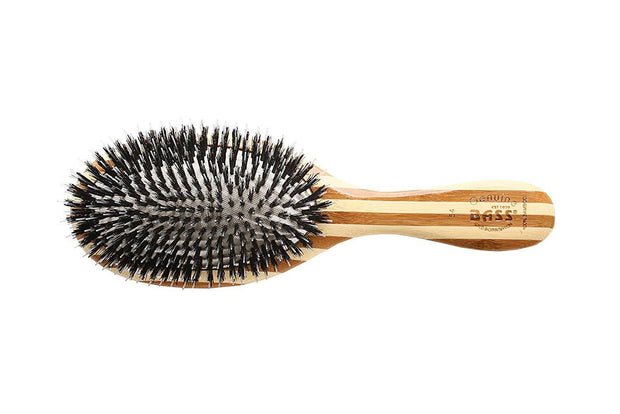 Bass Brushes Eco Friendly Shine & Condition Bamboo Hair Brush - Professor Fuzzworthy - Professor Fuzzworthy Beard Care