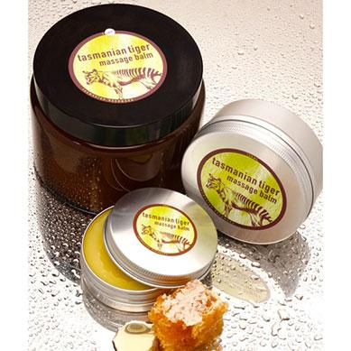 Tasmanian Tiger massage balm - Beauty and the Bees - Professor Fuzzworthy Beard Care