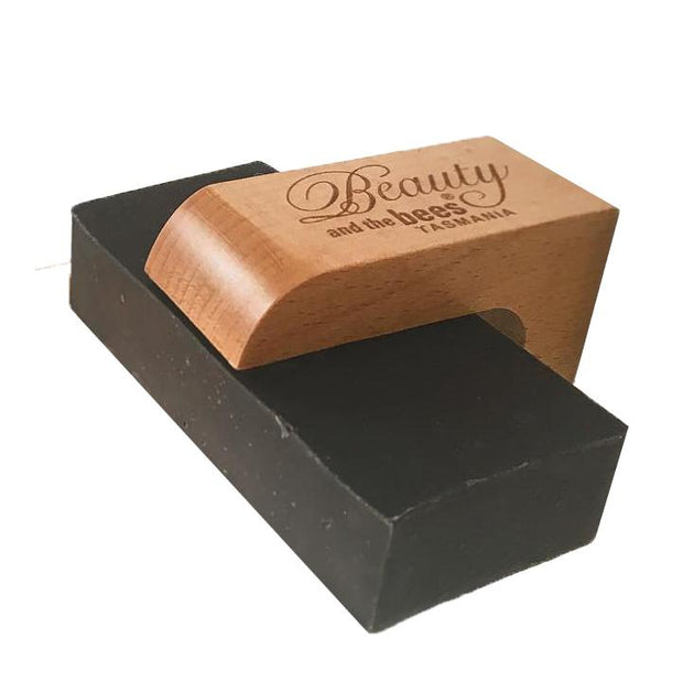 Beauty and the Bees Air Dry Magnetic Soap Holder - Container for Solid Shampoo Bars
