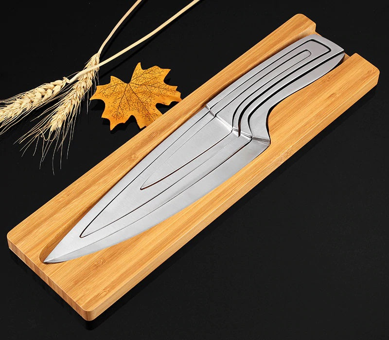 4pcs Set Multi Cooking Chef Knife