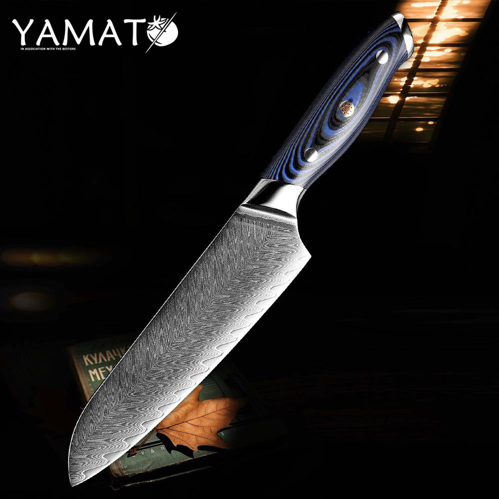 YAMATO - Samek (鮫) Damascus Chef Knives