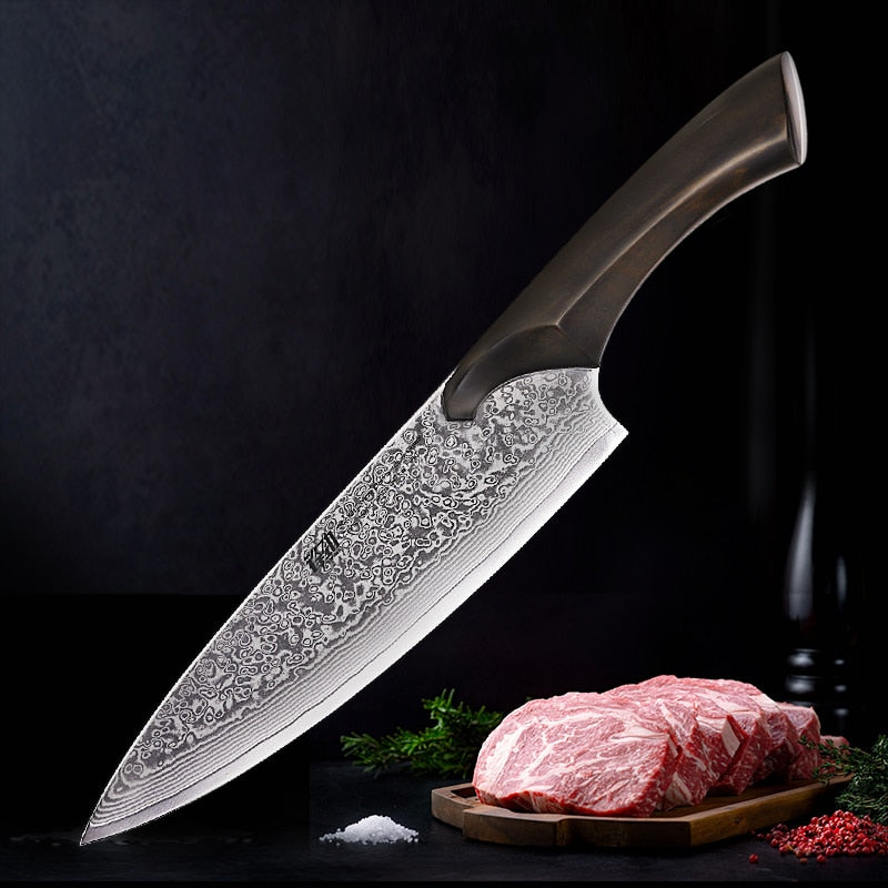 LEOPARD 67 Layers Damascus Japanese Chef Knife