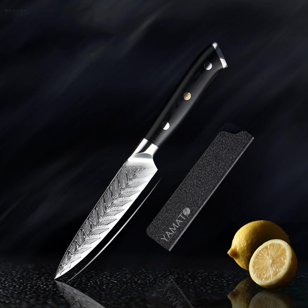 YAMATO - Ha Ne (羽) Damascus Chef Knives
