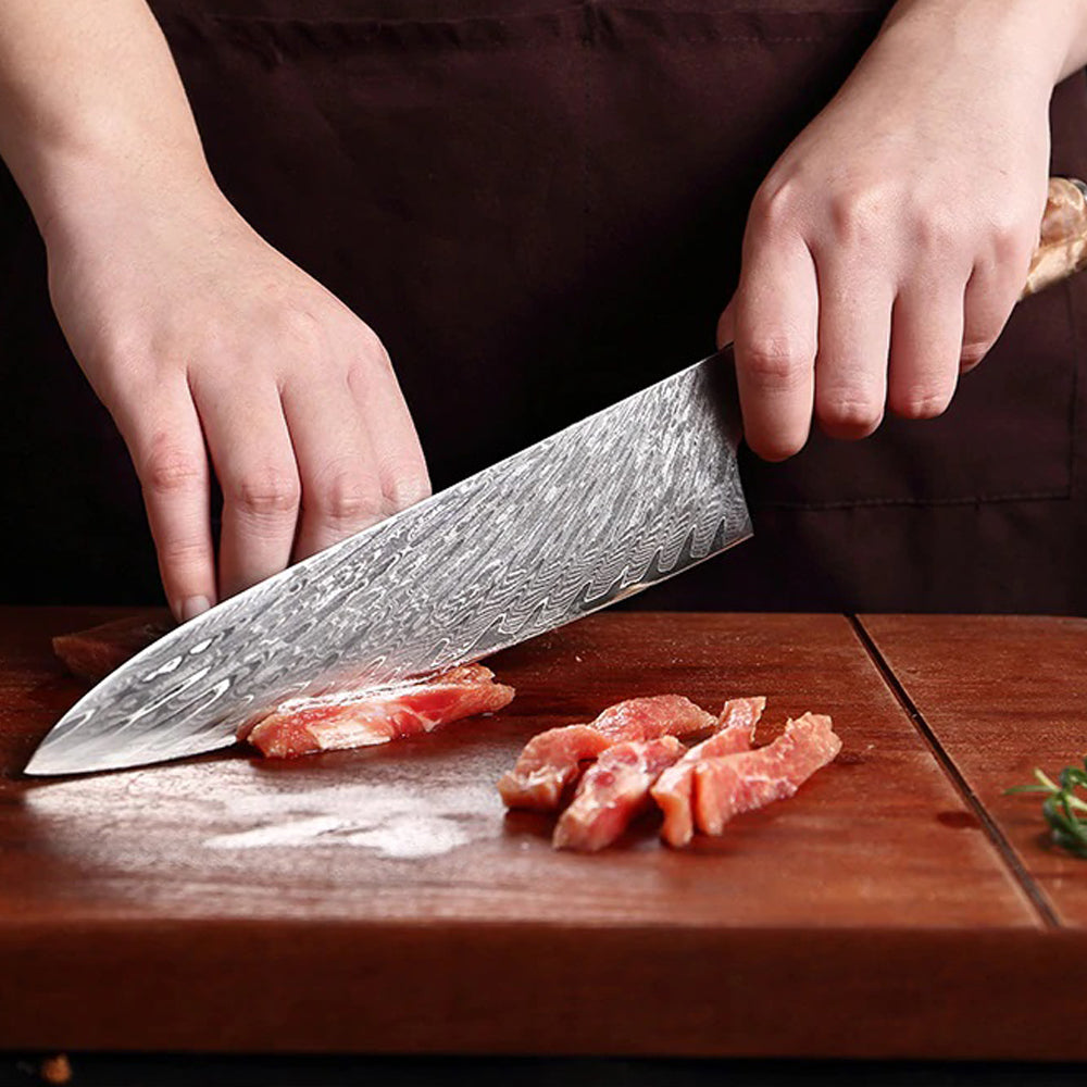 YAMATO - Lesika (霊鹿) Damascus Chef Knives