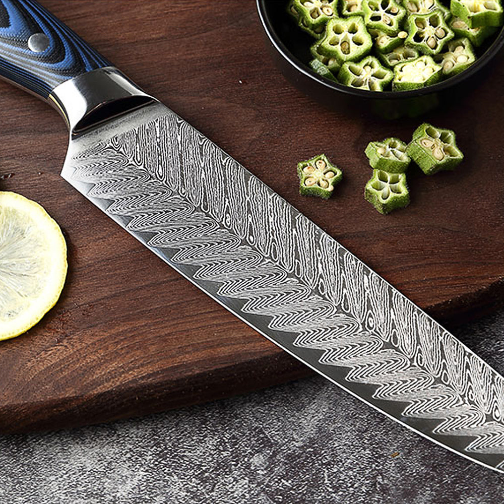 YAMATO - Samek (鮫) Damascus Chef Knife Sets