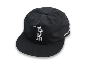 Crime Cat - Nylon Snapback - Black