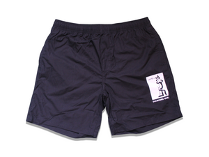 Crime Cat - Shorts - Black