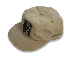 Crime Cat - Nylon Snapback - Khaki