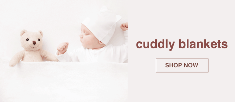 Soft and plush baby blankets to keep your little one cozy.