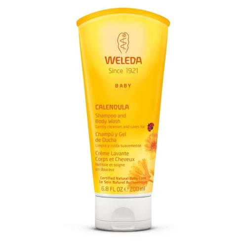 Weleda Calendula Shampoo and Body Wash - 6.8 fl oz - gobabyco