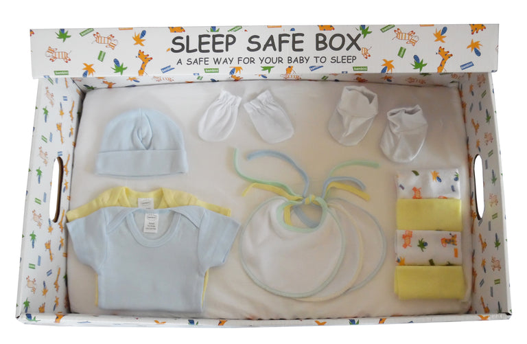 Boy 16 Piece Baby Starter Set Box - gobabyco