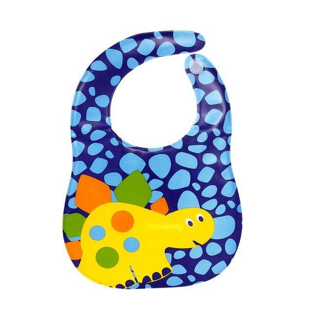 Baby Bandana Bibs With Cute Bee Design Print - gobabyco