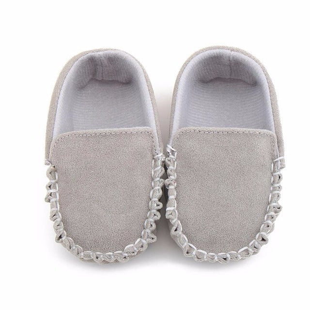 Double Velour Baby Shoes - gobabyco