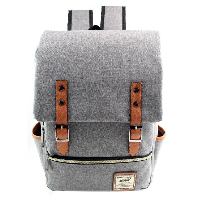Vintage Canvas Backpack - gobabyco