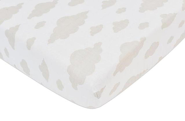 Cloud Crib Sheet - gobabyco