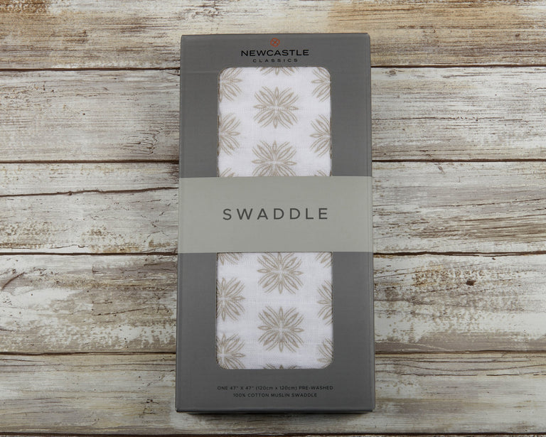 Traveler Dot Swaddle - gobabyco