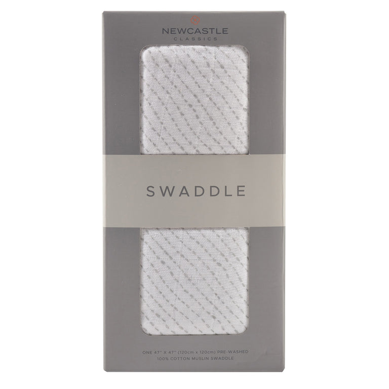 Kids Spotted Wave Swaddle - gobabyco