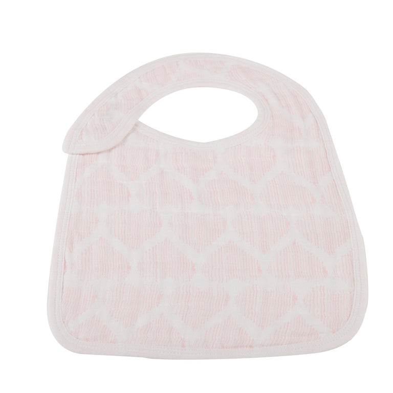 Pretty In Pink Snap Bibs Set of 3 - gobabyco