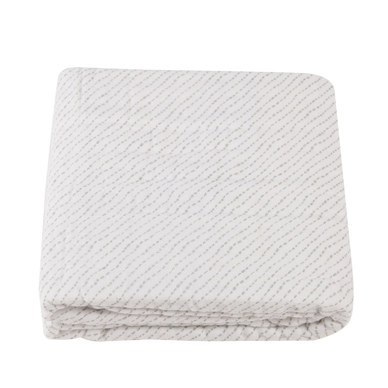 Spotted Wave Newcastle Blanket - gobabyco