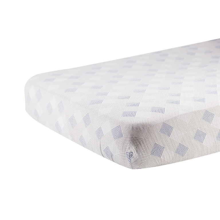 Mountain Peak Crib Sheet - gobabyco