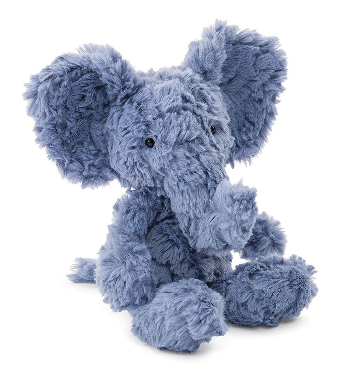 Squiggles the Blue Elephant - gobabyco
